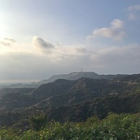 The view from Mt. Hollywood